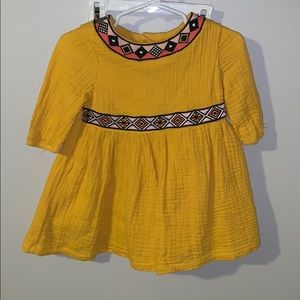 Mustard tunic